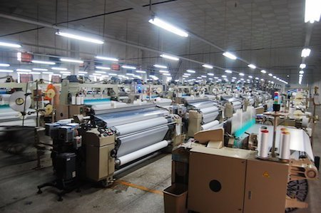Textile Factory Tour – A visitor from the UK