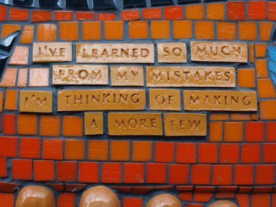 Learners – Learn to Love your Mistakes