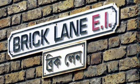 A visit to Brick lane, London