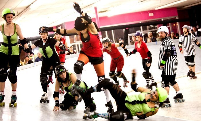 Fast and Furious Roller Derby