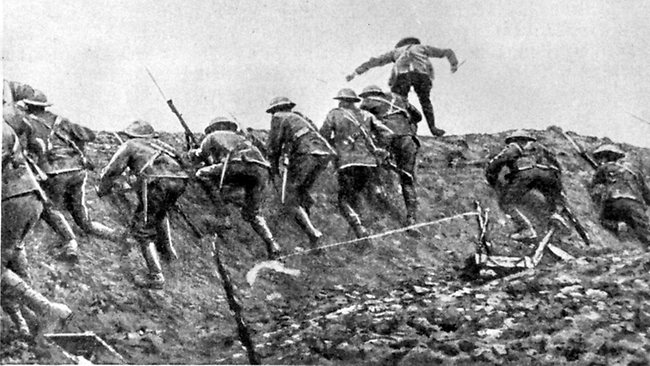 July 1 The Battle of the Somme