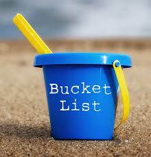My bucket list Nicolas