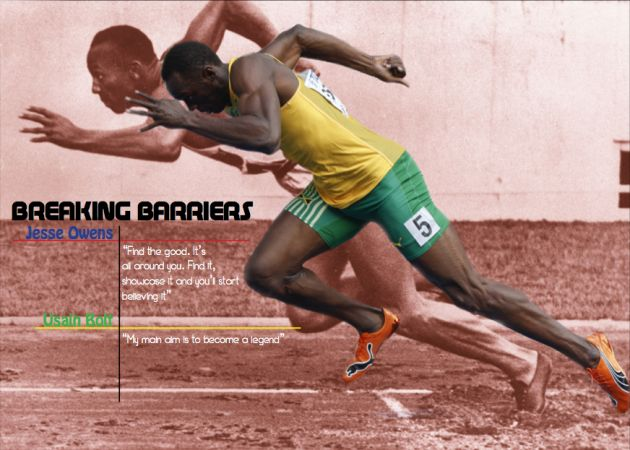 Comparing Jesse Owens and Usain Bolt