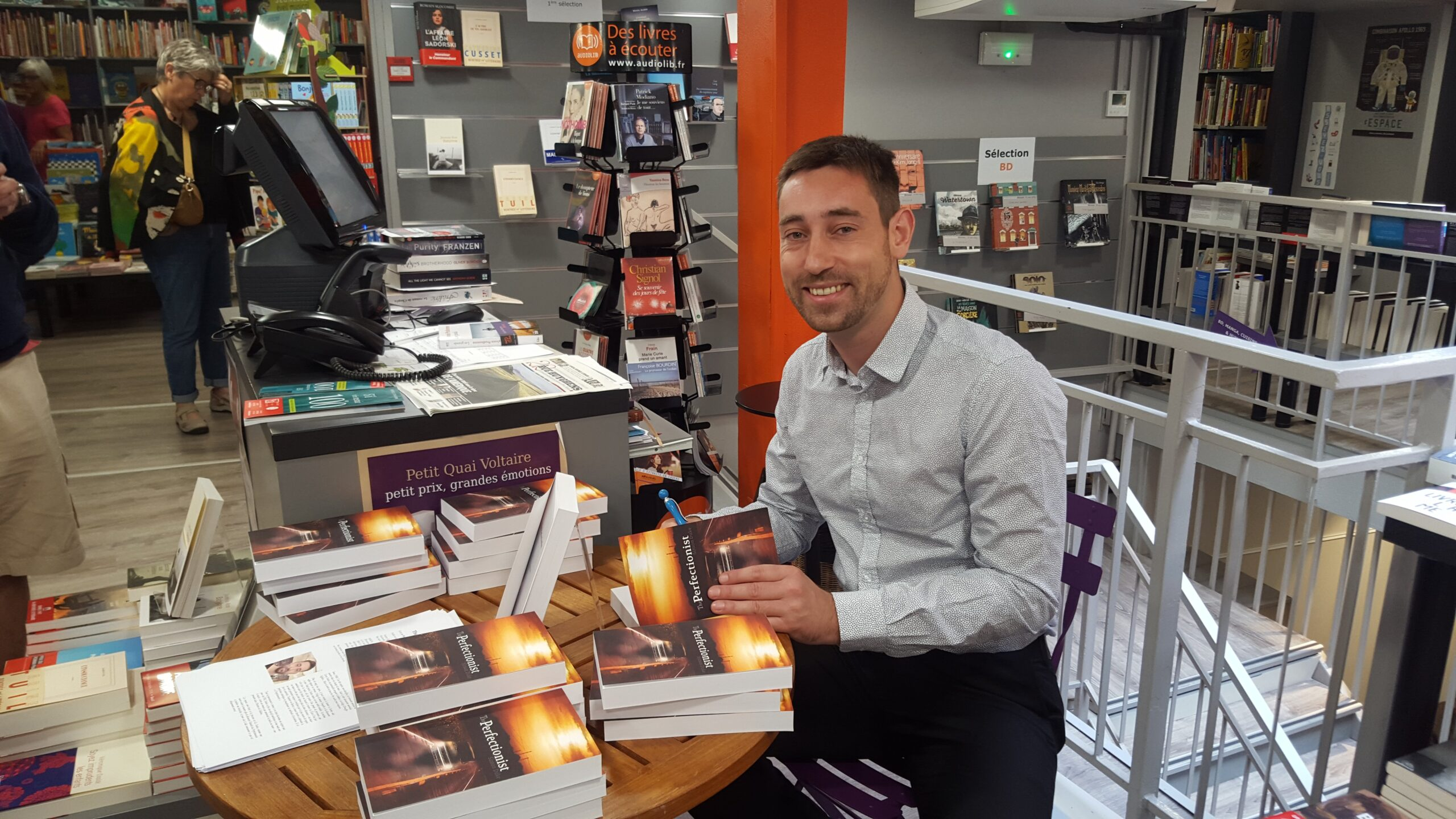 Book Signing in Toulouse