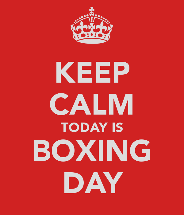 The origins of Boxing Day