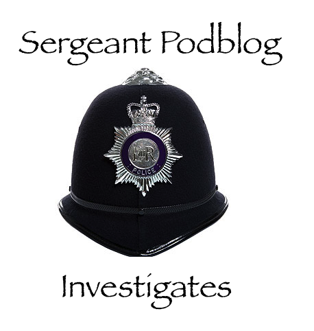 Sergeant Podblog and the coded message