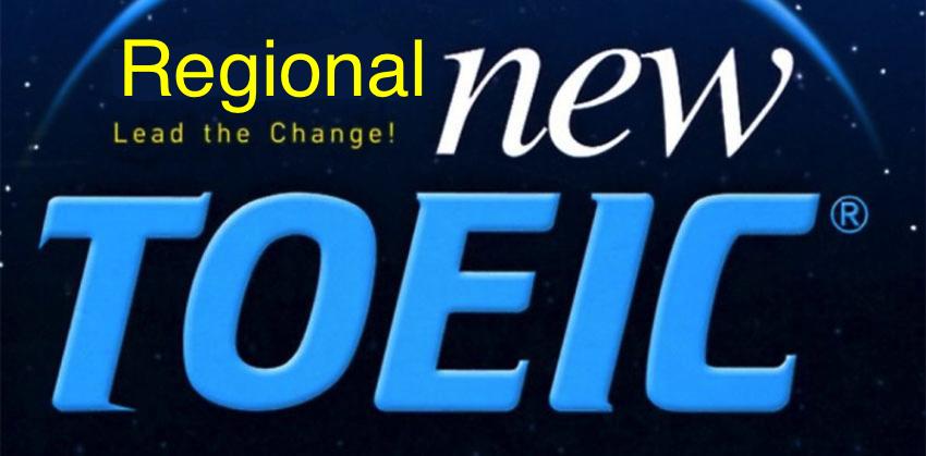 New TOEIC Test parts - Regional TOEIC