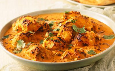 Making an easy and delicious Chicken curry