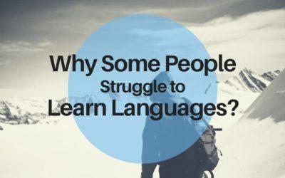 Why we struggle learning languages