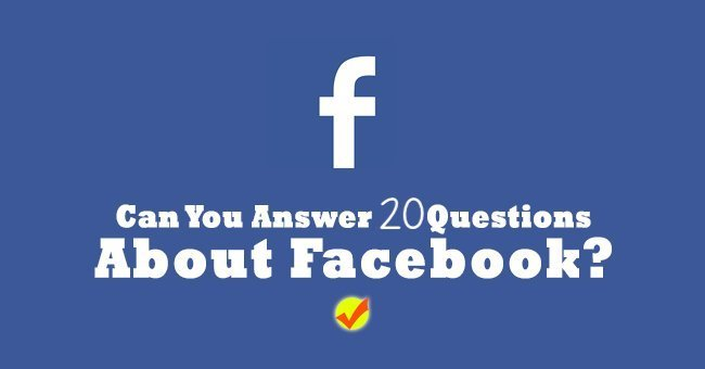 How well do you know Facebook?