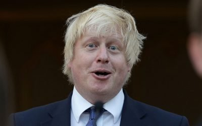 English Podcasts interviews Boris Johnson