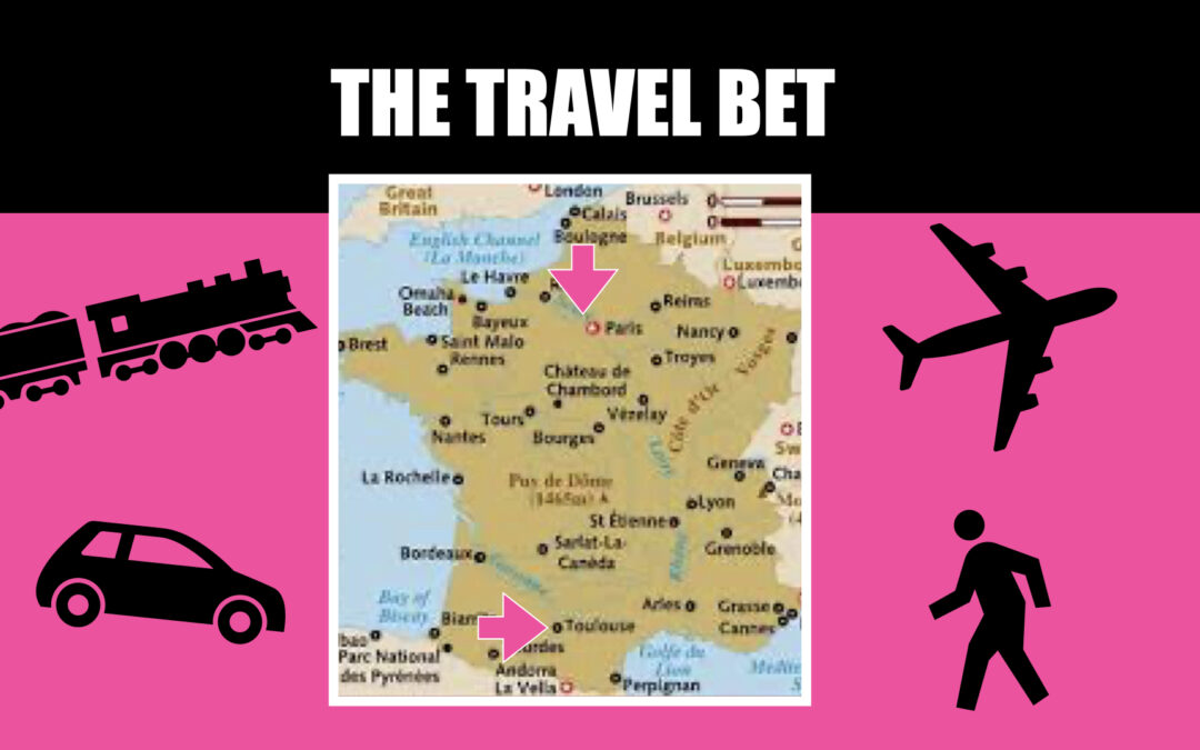 The travel bet
